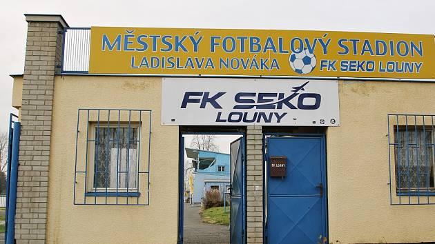 Fotbalový stadion Ladislava Nováka v Lounech