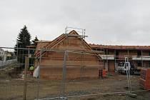 Ilustrační snímek. Stavba domu.