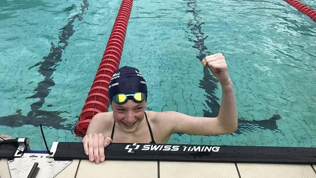 Český pohár v plavání byl pro žatecké závodníky  úspěšný.