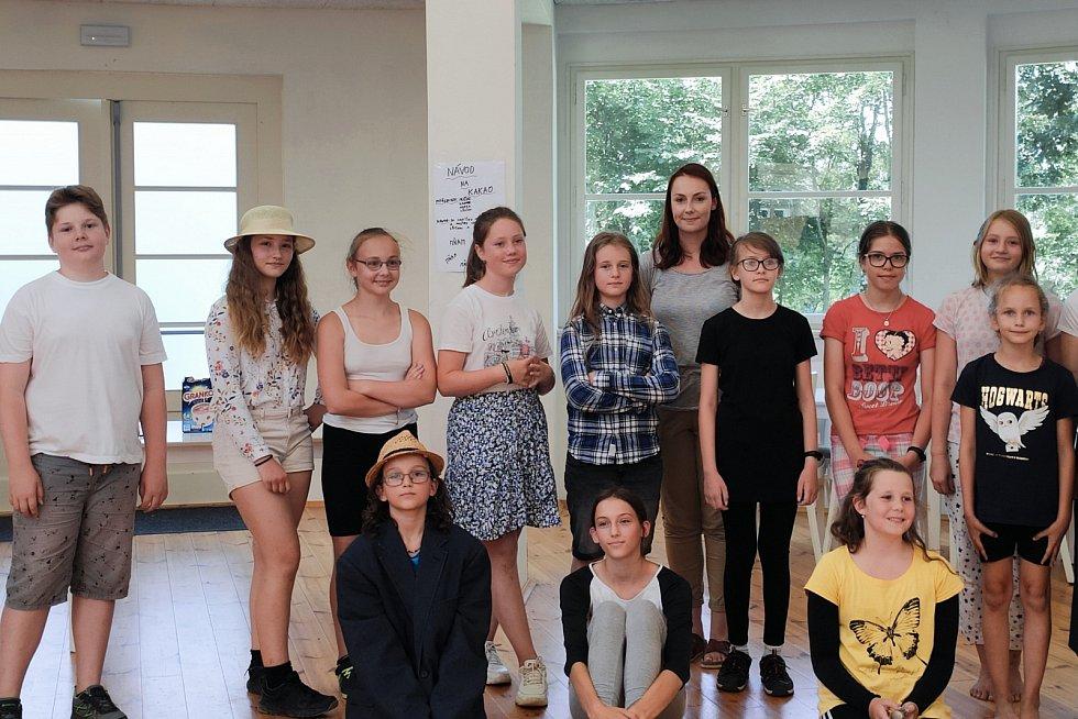 Příměstský tábor v pavilonu A v lounských Masarykových sadech