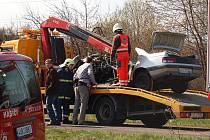 Tragická nehoda, při níž zahynuli čtyři devatenáctiletí studenti
