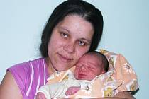 Jakub Tataj ze Žatce je prvním miminkem roku 2014 v žatecké porodnici. Na svět ho přivedla maminka Adéla Tatajová