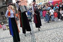Velikonoční trhy na náměstí Svobody v Žatci