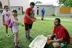 Plná dětských úsměvů byla náves v Očihově při oslavě dne dětí v sobotu 2. června.