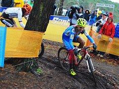 MS v cyklokrosu v Zolderu, ženy elite. Lounská Martina Mikulášková dojela na 26. místě