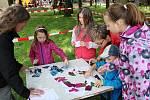 Pro děti byla připravena řada soutěží a her