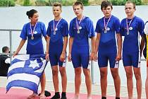 Úspěšní lounští veslaři na mistrovství republiky v Račicích