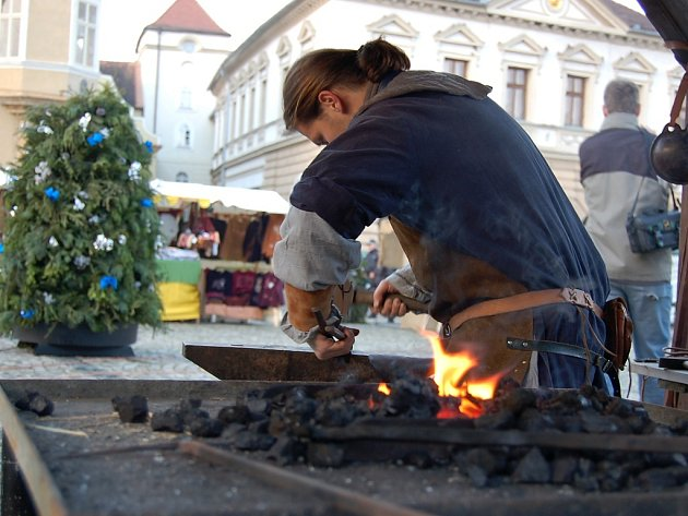 Vánoční trhy v Žatci