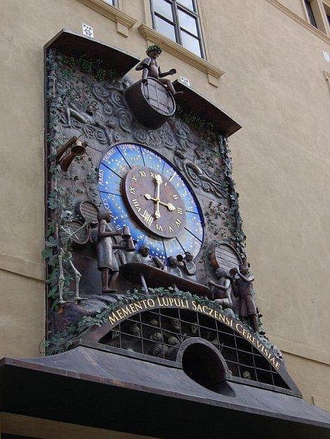 Žatecký orloj.