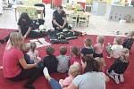 Hasiči navštívili děti v žatecké Mateřské škole Sedmikráska.