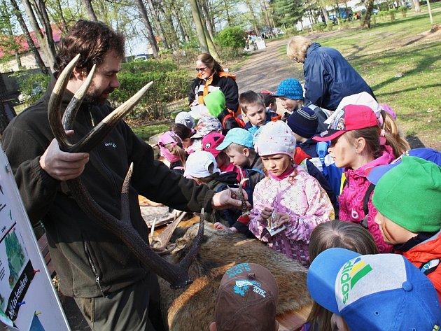 Akce ke Dni Země v žateckém parku