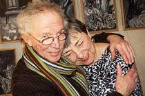 Michail Ščigol s manželkou