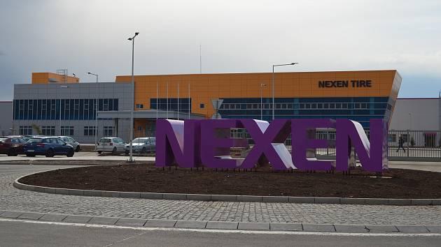 Továrna firmy Nexen