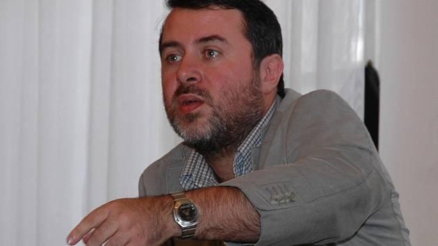 Žatecký starosta Erich Knoblauch