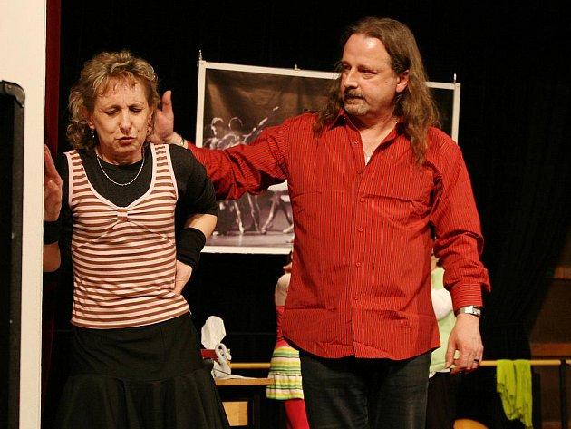 Představení Divadelního souboru Klouzák s názvem Baletky