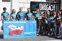 Cyklo běh za Českou republikou bez drog v Žatci