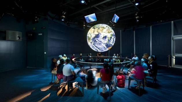 Vizualizace vzdělávacího centra.