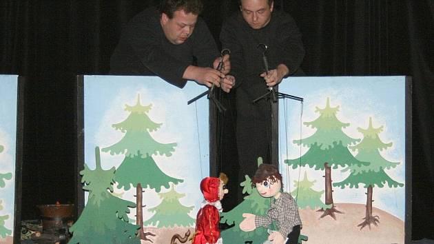 Pohádka ve Stálém loutkovém divadle Louny