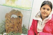 Výstava betlémů v Žatci.