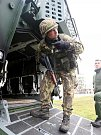 Ve vojenském výcvikovém prostoru Hradiště v Doupovských horách v těchto dnech cvičí jednotky 4. brigády rychlého nasazení.
