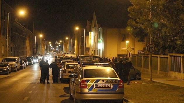 Policejní zátah na lounské diskotéce Imperium