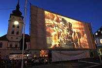 Kinematograf bratří Čadíků promítl v roce 2012 v Žatci Fimfárum 3