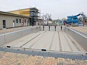 Nově zrekonstruované autobusové nádraží v Žatci