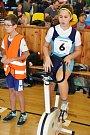 Veřejný halový triatlon v Lounech.