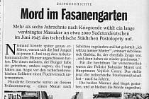 Tragédii v Postoloprtech se tento týden v obsáhlém článku věnoval také Der Spiegel, nejčtenější německý zpravodajský týdeník. Titulek je stručný: Vražda v Bažantnici.