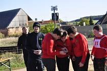 Mladí hasiči ve Vroutku na soutěži Plamen
