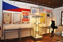 V Oblastním muzeu v Lounech začala výstava Rok 1989 na Lounsku. Foto Ladislav Bába