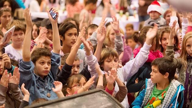 Děti v kulturním domě Moskva