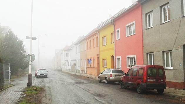 Dukelská ulice v Žatci