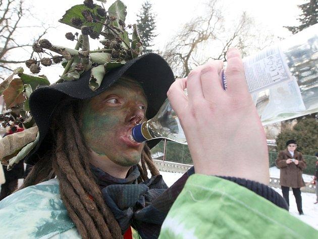 Masopustní průvod v Želči v sobotu 14. února