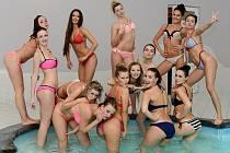 Finalistky soutěže Miss Louny 2015 strávily víkend v hotelovém resortu v Nesuchyni na Rakovnicku