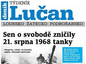 Týdeník Lučan ze 14. srpna 2018