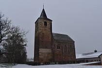 Kostel sv. Jakuba Většího ve Vroutku.