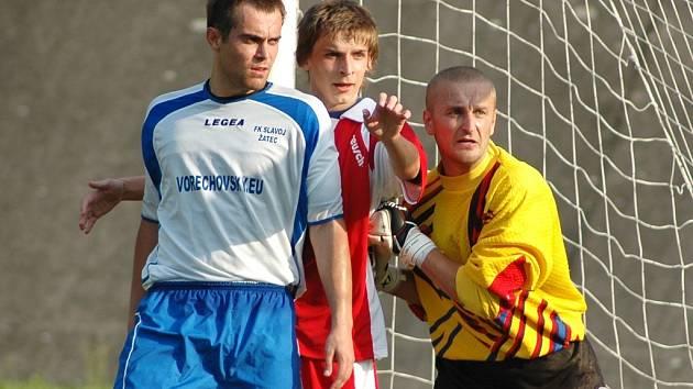 Finále okresního poháru Louny B - Žatec.