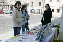 Knihovnice Jana Hrbková, Ilona Konířová a Vladimíra Korousová (zleva).