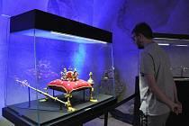 Výstava replik korunovačních klenotů na zámku Nový Hrad v Jimlíně