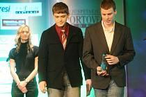 Zástupci Veslařského klubu Ohře Louny. Patřilo jim třetí místo v kategorii kolektivy mládeže za rok 2010.