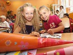 První školní den v postoloprtské základní škole