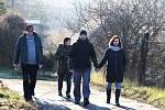 Milovníci pěší turistiky vyrazili na Novoroční pochod v Žatci.