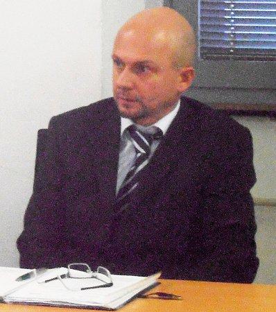 Překupník Ján Mitro na snímku zjednání ústeckého soudu