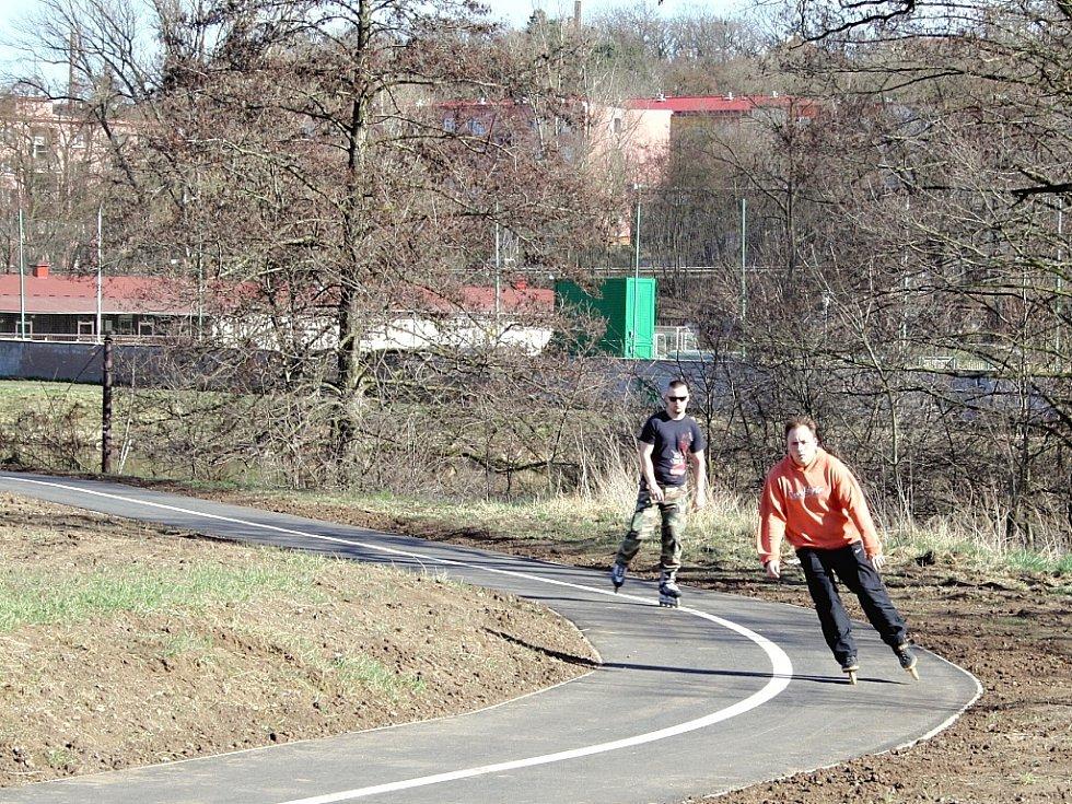 Cyklostezka Ohře. Ilustrační foto.