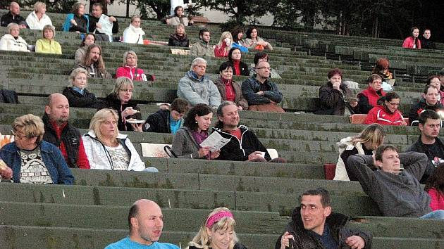 Letní kino v Žatci, archivní foto.