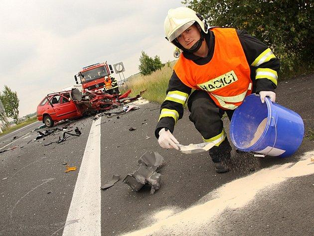 Tragická nehoda na obchvatu Loun