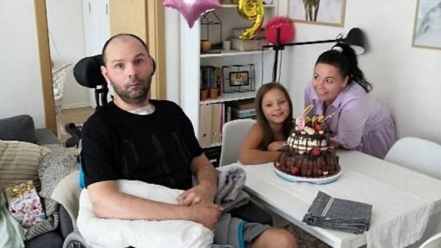 Pavel Koreň ze Žatce skončil po těžké mozkové mrtvici na invalidním vozíku.