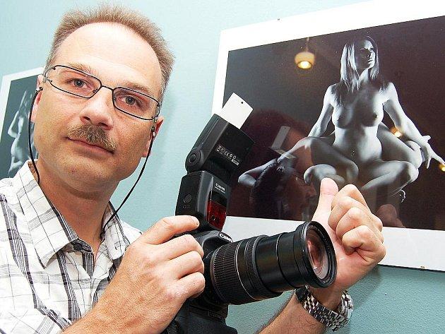 Fotograf Antonín Svoboda představil svou tvorbu v žateckém hotelu Černý Orel.