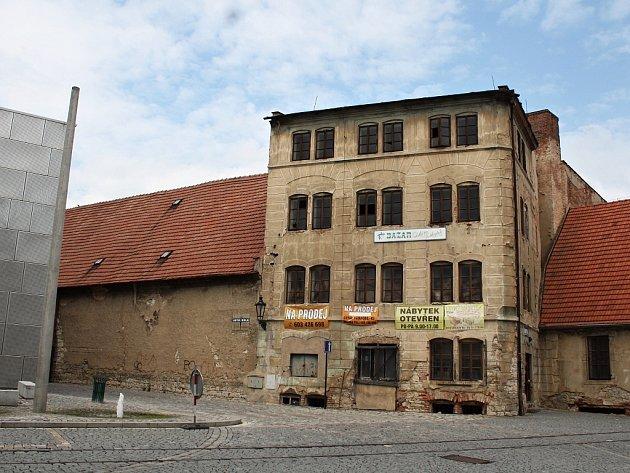 Bývalý sklad chmele na náměstí Prokopa Velkého.
